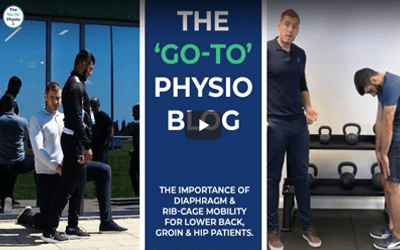 The Importance of Diaphragm and Ribcage Mobility for Low Back, Groin and Hip Patients