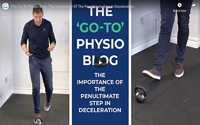 The Importance of the Penultimate Step in Deceleration