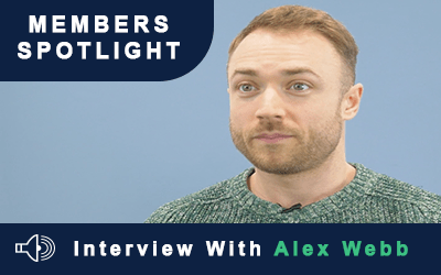Members Spotlight – Interview With Alex Webb