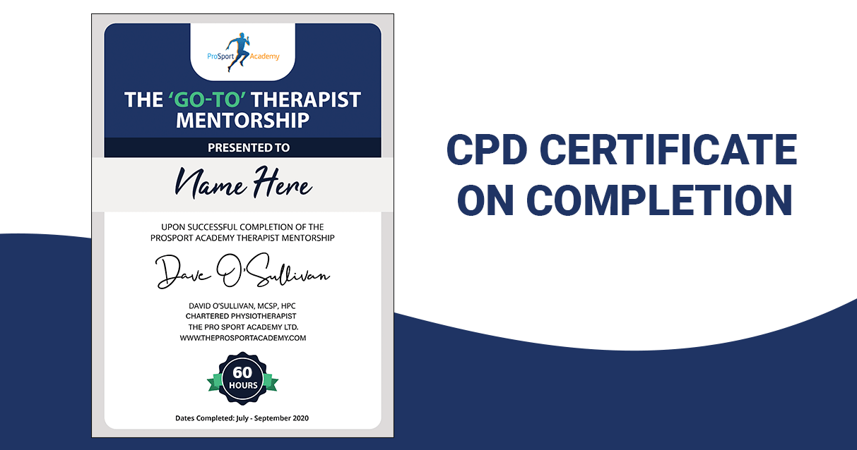 CPD Certificate On Completion Image 60 Min