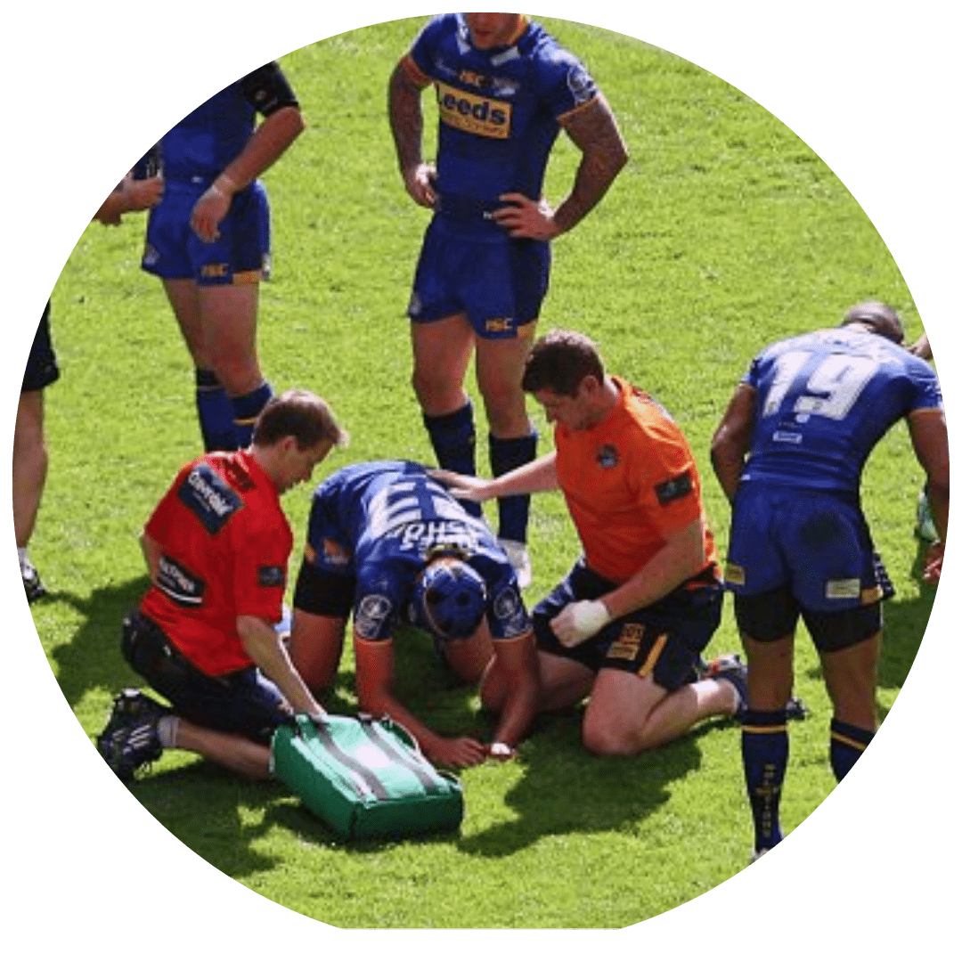Leeds Rhinos Physiotherapist