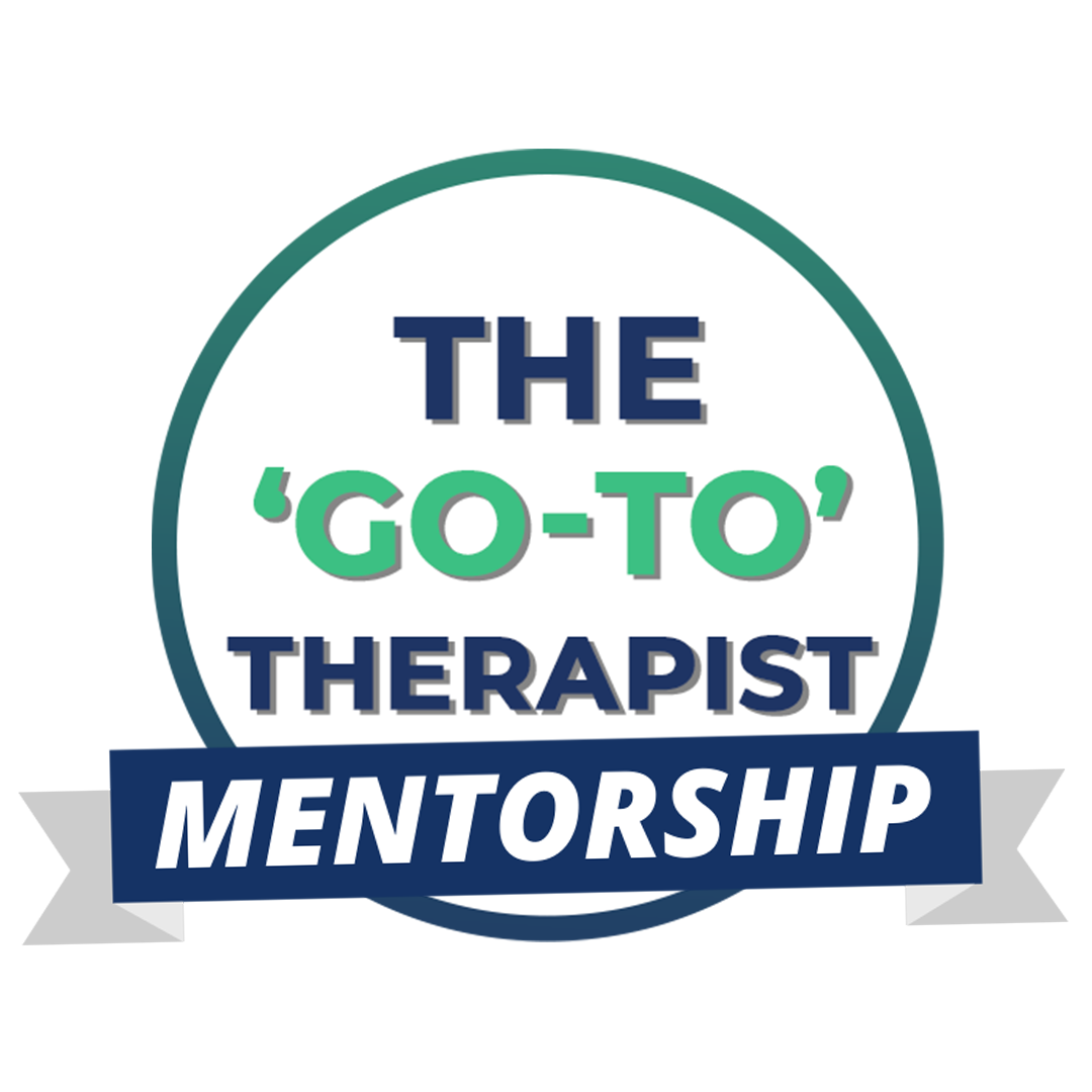 the Go-To therapist Mentorship Logo