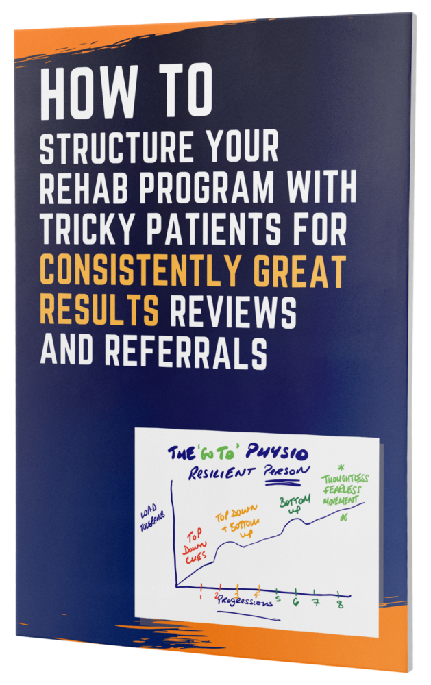 How To Structure Your Rehab Program In Private Practice