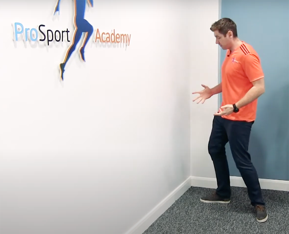 Changing direction in graded exposure sports physiotherapy