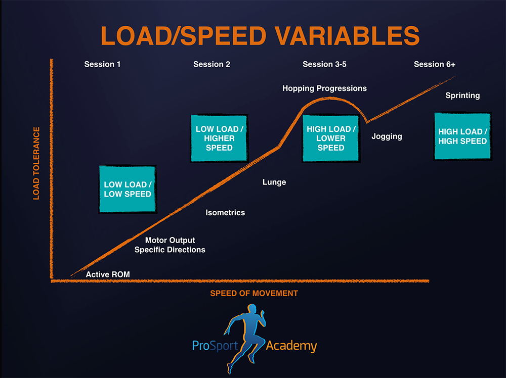 Load/Speed Variables With Progressive Exposure To Load