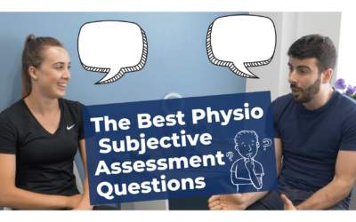 The Best Subjective Assessment Physiotherapy Question To Ask