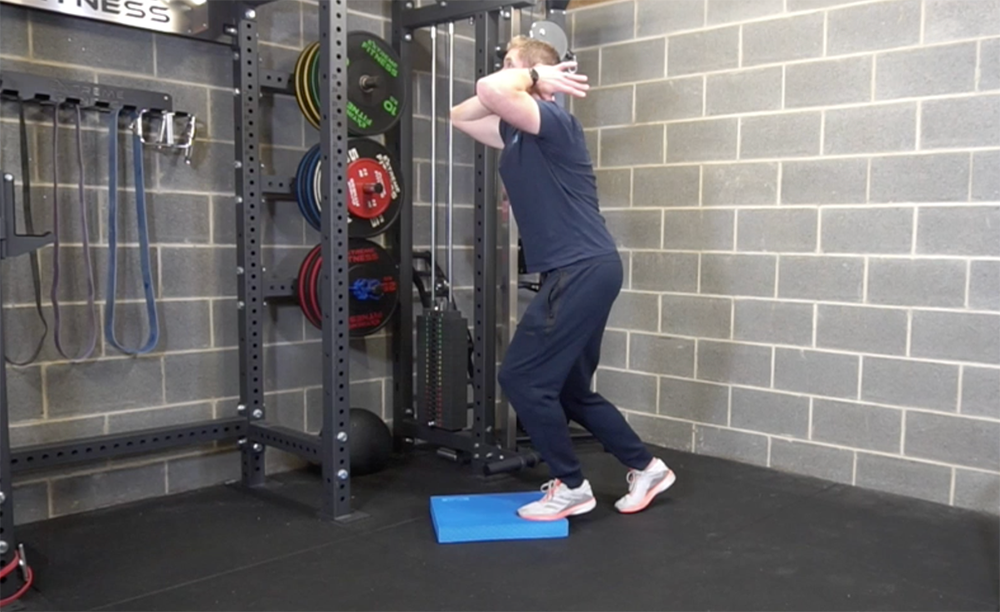Mobilising the rib cage allowing for thoracic spine extension